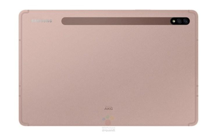 Samsung Galaxy Tab S7 en Mystic Bronze