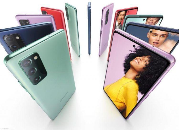 Supuesto Samsung Galaxy S20 FE