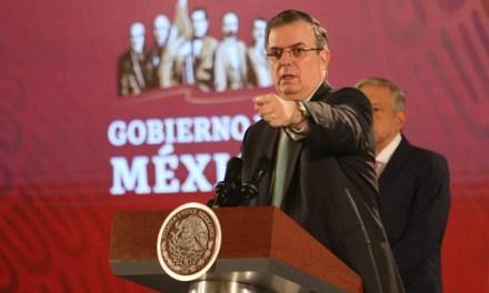 MÉXICO PEDIRÁ REUNIÓN URGENTE ANTE LA OEA POR RENUNCIA DE EVO MORALES
