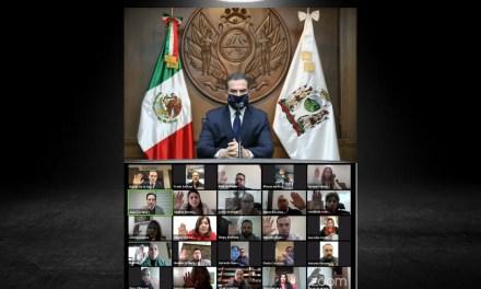 EL ALCALDE DE MONTERREY, ADRIÁN DE LA GARZA, SE DESPIDE DEL CABILDO DANDO GRACIAS POR TODO PARA POR FIN CONCENTRARSE EN LAS ELECCIONES DEL 2021