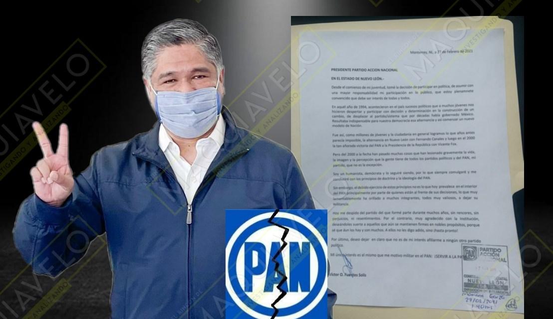 CONMOVEDOR ADIÓS DE VÍCTOR FUENTES DEL PAN