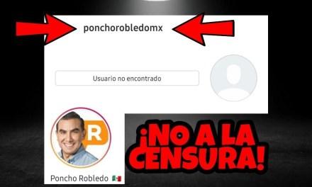 """LE PRESENTAMOS AL CANDIDATO PANISTA A LA ALCALDÍA DE GUADALUPE, """"PONCHO"""" ROBLEDO QUE """"CENSURÓ"""" A ESTE MEDIO, ¡SALIÓ INTOLERANTE!"""