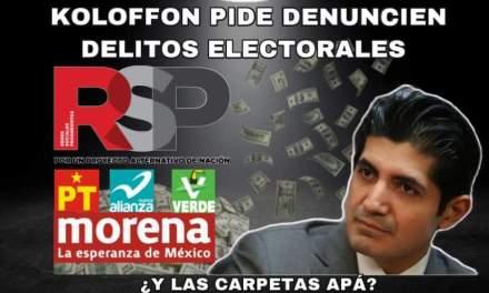 """TITULAR DE LA FISCALÍA EN DELITOS ELECTORALES """"ANDA EN CAMPAÑA"""" PIDIENDO QUE DENUNCIEN LOS CIUDADANOS, CON LEER EL PERIÓDICO TENDRÍA MILES DE CARPETAS DE INVESTIGACIÓN """"FISCAL"""" <br>"""