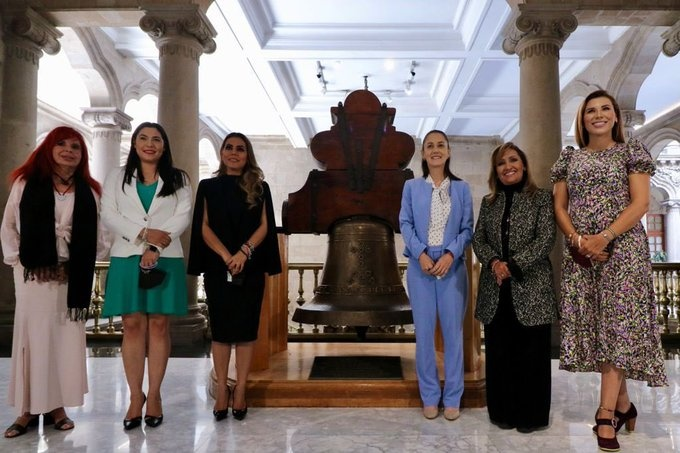 SE REÚNE SHEINBAUM CON PRÓXIMAS GOBERNADORAS DE MORENA EN LA CDMX <br>