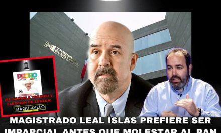 EL TRIBUNAL ESTATAL ELECTORAL  HA DECIDIDO APLICAR DIFERENTES CRITERIOS CON MISMAS CIRCUNSTANCIAS, ANULA ZUAZUA, PERO NO TOCA A LOS PROTEGIDOS DE CARLOS LEAL ISLAS