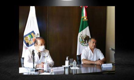 LOS PROTOCOLOS DE SALUD SIGUEN CAMBIANDO EN NUEVO LEÓN DEBIDO AL AUMENTO DE CONTAGIOS POSITIVOS DE COVID <br>