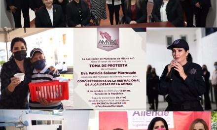 LA ALCALDESA Patricia Salazar ASUMIRÁ LA PRESIDENCIA DE LA RED NACIONAL DE ALCALDES DE LA #AMMAC