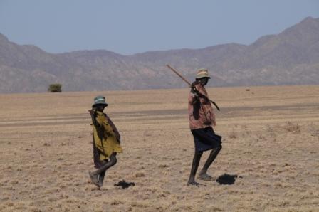 Turkana shepherds