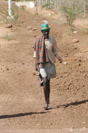 Turkana man in Lokichoggio