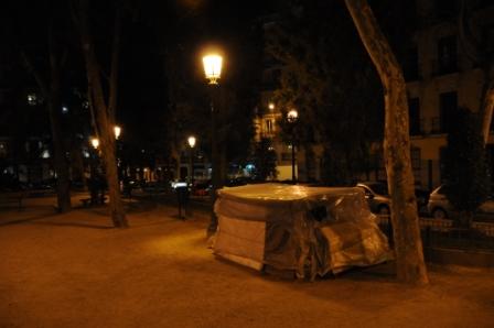 La casa de Eladio, en la Plaza de las Salesas