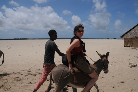 An exhausting day walking for hours, except for a 5-minute donkey ride. I had to try it!