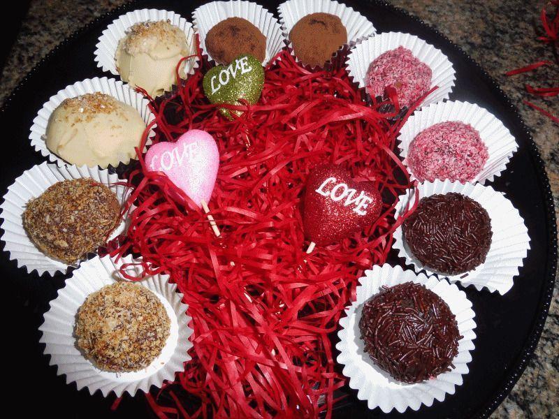 Trufas de chocolate 5 versiones   Especial San Valentín
