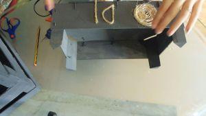 Reciclando cajas de fresa