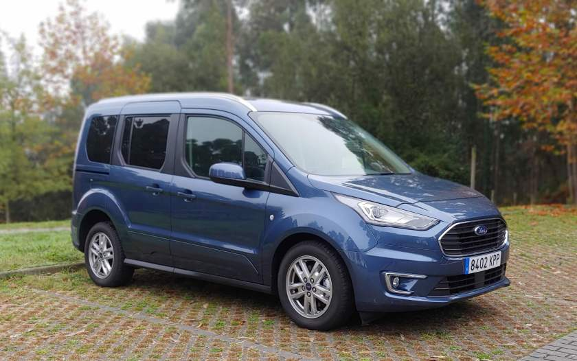 EXTERIOR FORD TOURNEO CONNECT