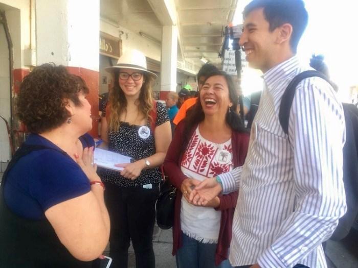 Pedro Kumamoto y Juanita Delgado en Lagos de Moreno