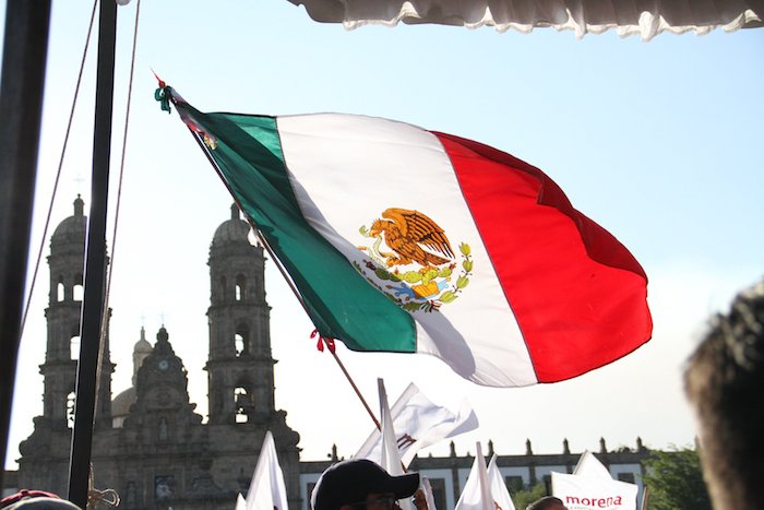 Simpatizantes de Andrés Manuel López Obrador en Zapopan