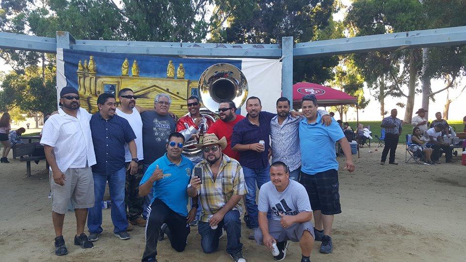 Celebran laguenses el coleadero en San José, California