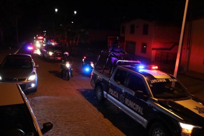 Operativo nocturno Lagos de Moreno