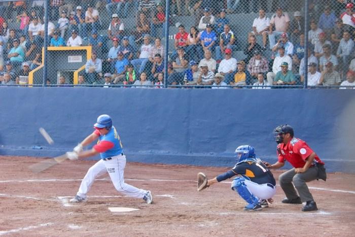Partido Baja California contra Jalisco en el Campeonato Master 50. Foto: Sergio Hernández Márquez
