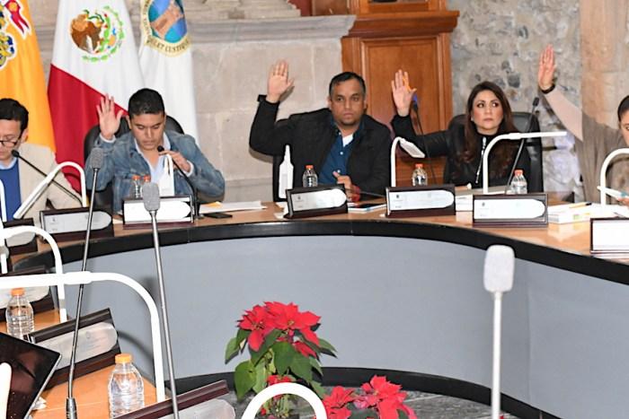Sesión de Ayuntamiento del Gobierno de Lagos de Moreno