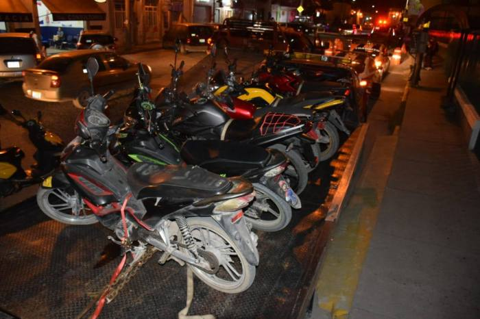motocicletas en Lagos de Moreno