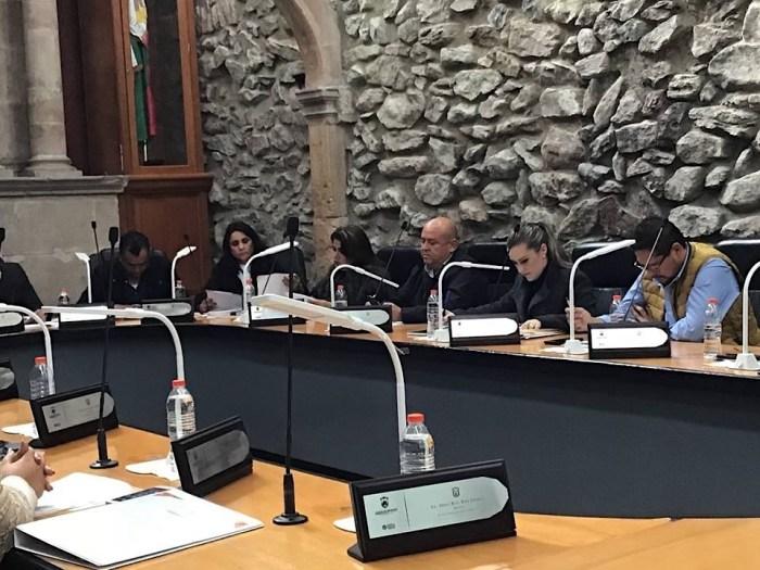 Sesión de Ayuntamiento. Imagen cortesía de Gabriela León