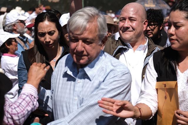 Obrador y Alfaro en Encarnación de Díaz