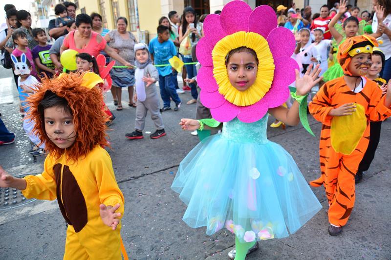 Veinte preescolares participarán en el tradicional desfile de la primavera