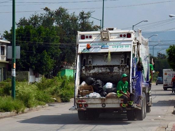 camión de basura enerwaste Lagos de Moreno