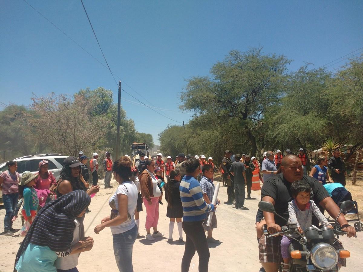 Detenciones arbitrarias por ductos de gas en La Laguna