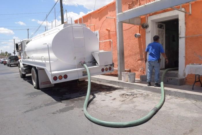 Abasto de agua en Lagos de Moreno