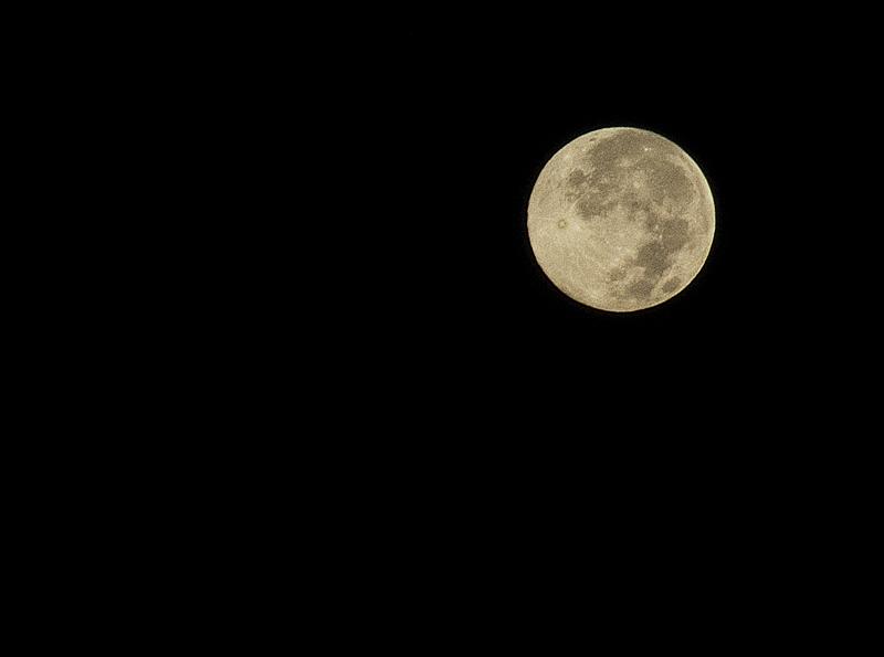 Luna llena en Semana Santa.