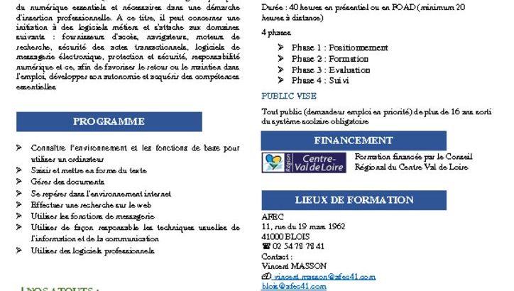 thumbnail of fiche pro numerique