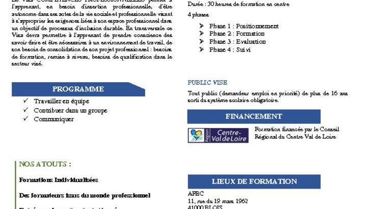 thumbnail of fiche competences pro