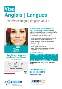 thumbnail of Publicité VISAS LANGUES ROMORANTIN LOT 86 2019