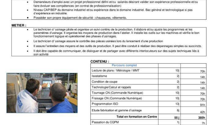 thumbnail of CQP technicien d'usinage
