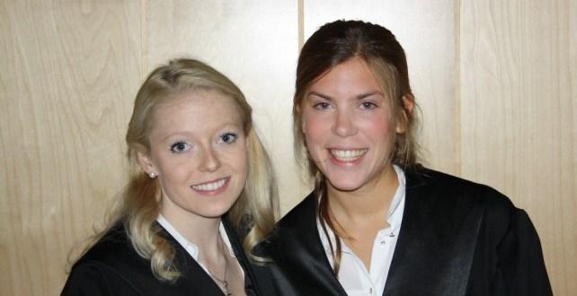 Line Isabell Sivertsen og Tora Ellingsen
