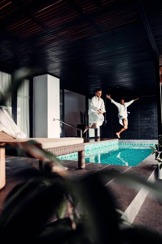piscine chambre the andaman