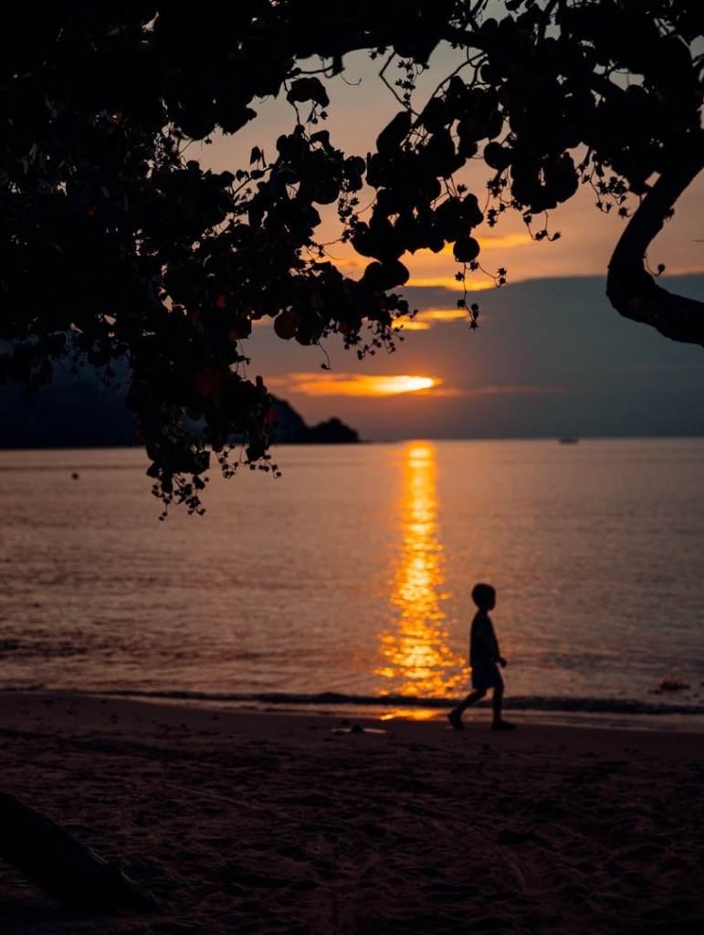 coucher de soleil andaman