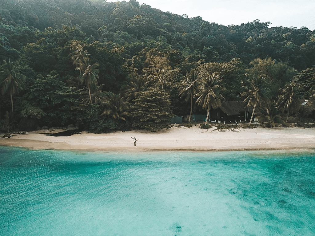 beach perhentian islands