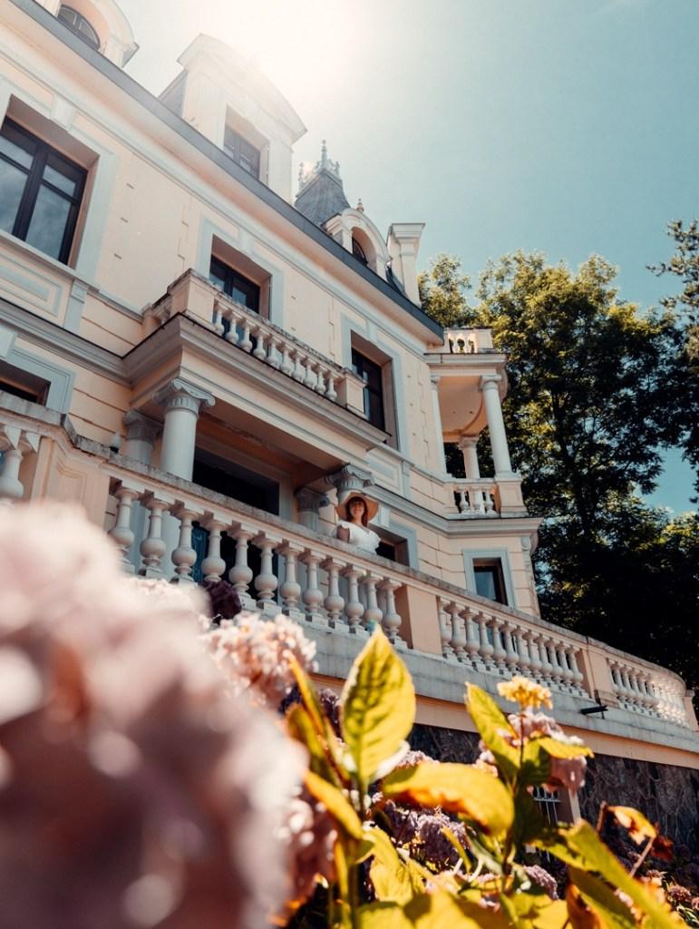 visite villa chatelet