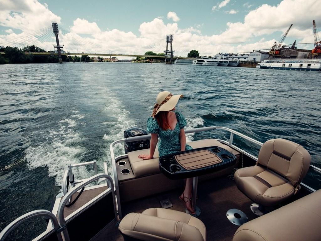 balade sur la saone en bateau