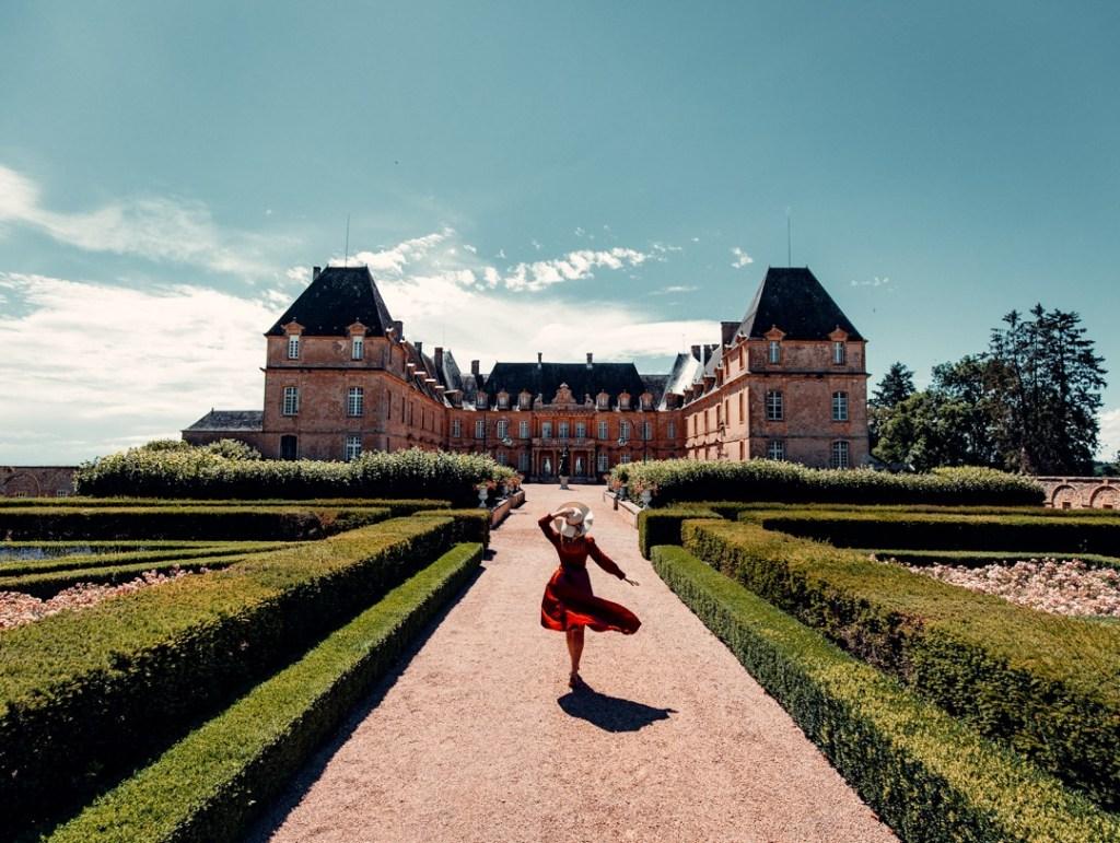 parc chateau de dree
