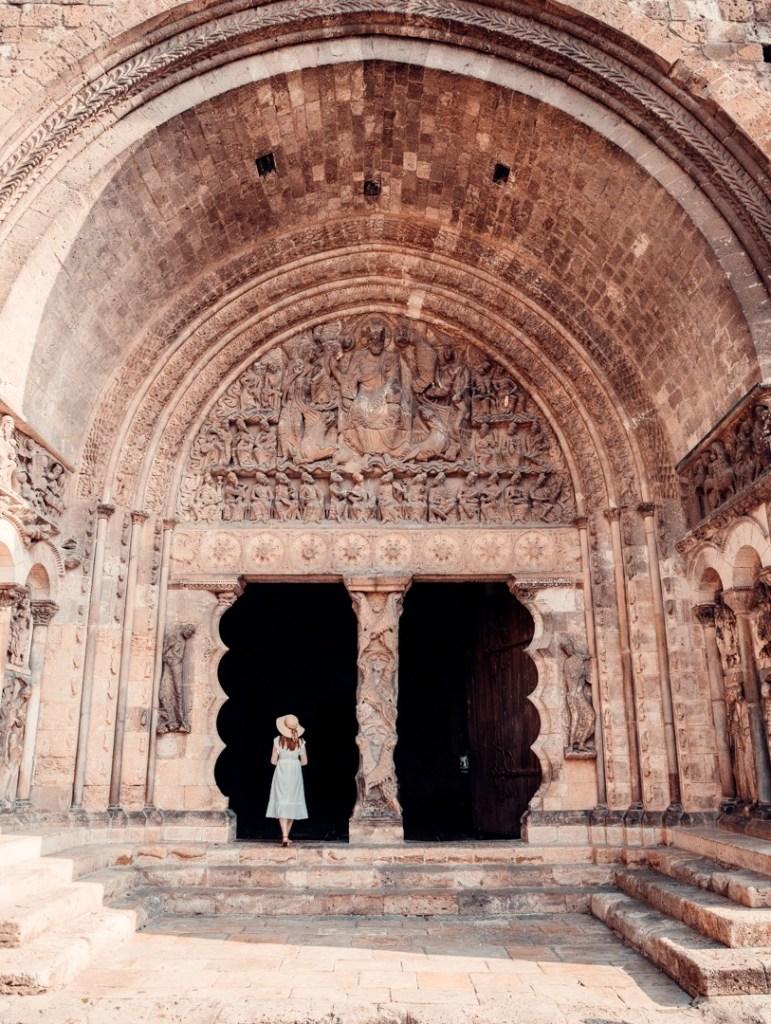 Tympan abbaye de moissac