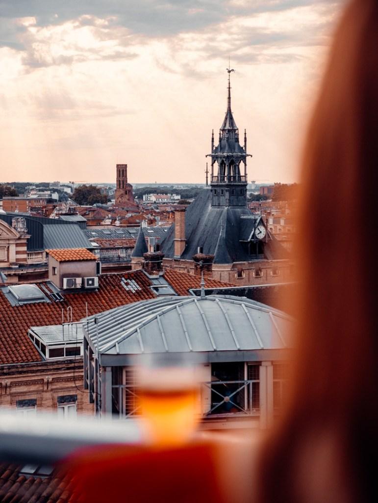 vue rooftop ma biche sur le toit