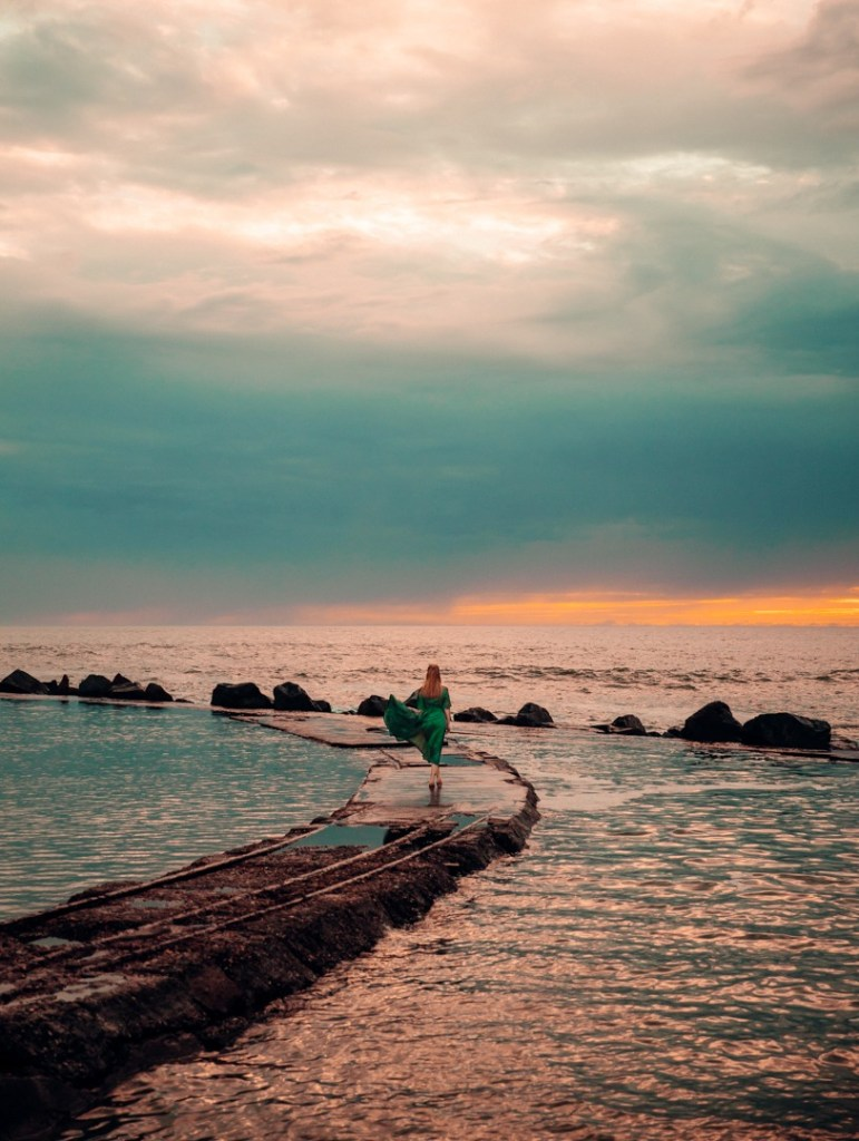 coucher de soleil soulac sur mer