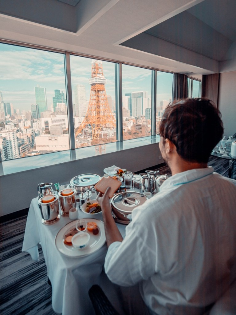 petit dejeuner prince park tower tokyo