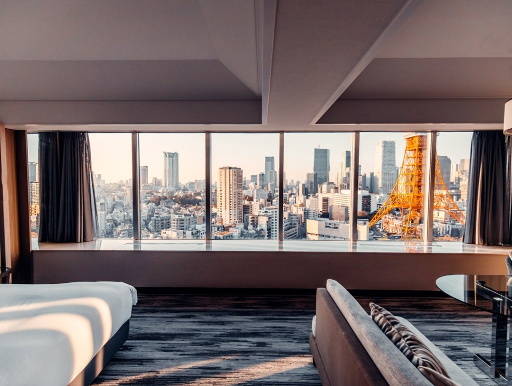 chambre prince park tower tokyo