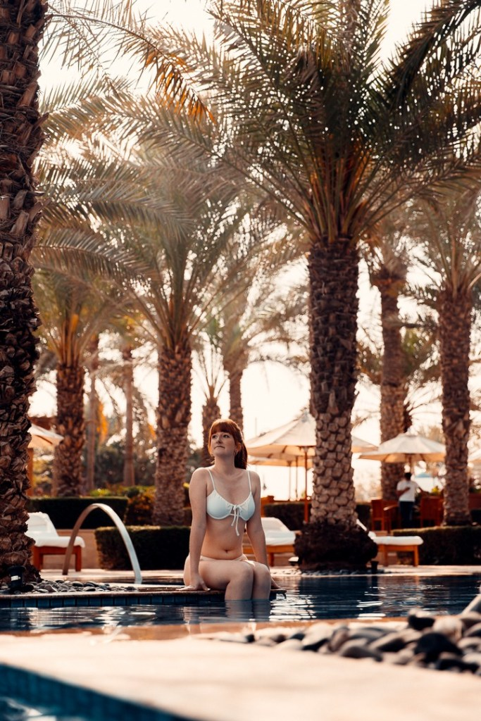 swimming pool park hyatt dubai