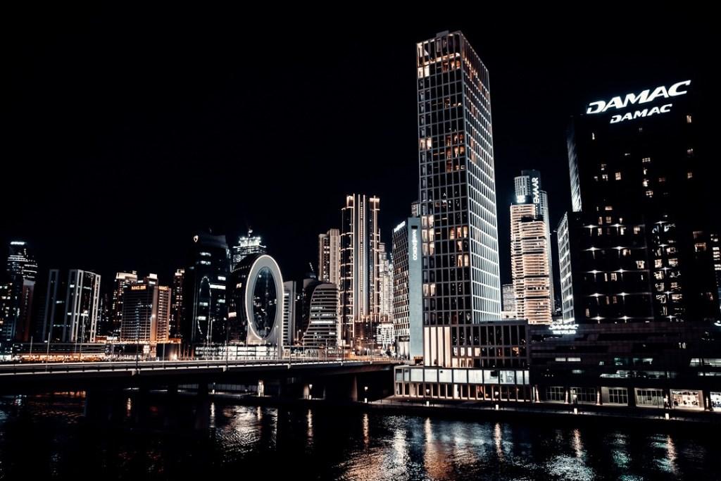 vue nuit radisson blu canal view